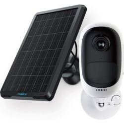 Argus 2 + Solar Panel, Reolink 2MP Rechargeable Battery Powered/Solar Powered WiFi Home Security Camera