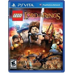 PLAYSTATION VITA PSV VIDEO GAME LEGO LORD OF THE RINGS New AND SEALED