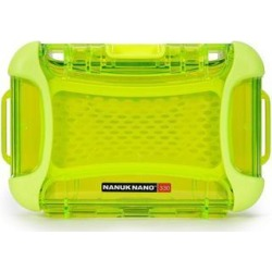 Nanuk 330-0002 Nano Series Waterproof Large Hard Case for Phones, Cameras and Electronics (Lime)