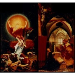 Posterazzi SAL900133463 Resurrection & Annunciation C.1510-15 Grunewald Matthias 1470-1480-1528 German Oil on Wood Panel Musee Poster Print - 18 x 24 found on Bargain Bro Philippines from Newegg Canada for $53.91
