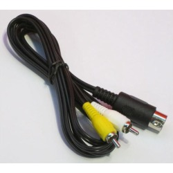 RCA AV Cable for Sega Genesis by Mars Devices