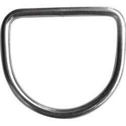 Scuba Dive 316 Stainless Steel D Ring for 5cm Weight Belt Webbing 6x50x47 mm