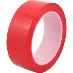 35mm x 66m Waterproof Single Sided Adhesive Easy-clear Marking Tape Red