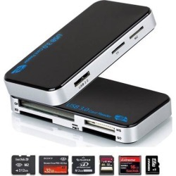 Super Speed USB 3.0 all in 1 Compact Flash Multi Memory Card Reader Adapter CF Micro SD TF XD MS