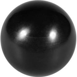Thermoset Ball Knob M12 Female Thread Machine Handle 40mm Diameter Smooth Rim Black