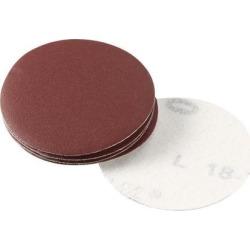 2-inch Hook and Loop Sanding Discs, 600-Grits Grinding Abrasive Aluminum Oxide Flocking Sandpaper for Random Orbital Sander 10pcs