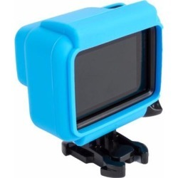 For Gopro Hero 5 Accessories Soft Silicone Camera Case Cover for Gopro Hero 5 Side Frame Housing Case