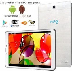Indigi® 7' Android 4.4 DualCore Tablet PC 3G Wireless SmartPhone WiFi Bluetooth