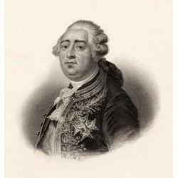 Louis Xvi, 1754-179. King Of France 1774-1792 Poster Print (14 x 15)