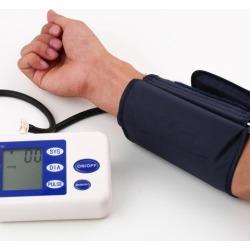 Digital Arm Blood Pressure Upper Automatic Monitor Heart Beat Meter LCD