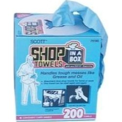 Recertified - Kimberly Clark 75190 Shop Towels In A Box - 10-in x 14-in