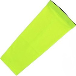 Adult Cycling Running Outdoor Exercise Sports Leg Sleeve Fluorescent Green L