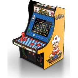MY ARCADE BurgerTime Collectible Retro Micro Arcade Machine Portable Handheld Video Game Licensed by Data East
