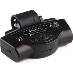 Bluetooth Car Kit FM Transmitter MP3 Player Steering Wheel Hands-Free Car Kit With Speaker & FM Function