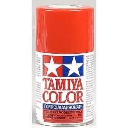 Tamiya USA TAM86034 PS-34 Bright Red Polycarbonate Spray Paint 100mL