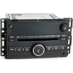 Recertified - Pontiac G5 2007-2008 Chevy Cobalt Radio AM FM CD w Aux 3.5mm Input Part 22714656 found on Bargain Bro India from Newegg Business for $125.00