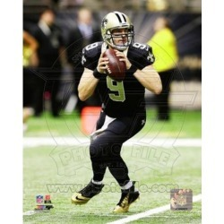 Posterazzi PFSAARM06101 Drew Brees 2014 Action Sports Photo - 8 x 10 in.
