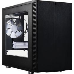 Fractal Design Define Nano S Black Window Silent Mini ITX Mini Tower Computer Case