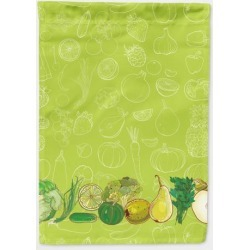 Fruits and Vegetables in Green Flag Garden Size BB5135GF