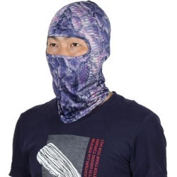 Serpentine Pattern Full Coverage Neck Protector Hood Helmet Balaclava Violet found on Bargain Bro Philippines from Newegg Canada for $8.45