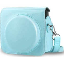 For Fujifilm Instax Square SQ6 Instant Film Camera Case Bag Cover - Ice Blue