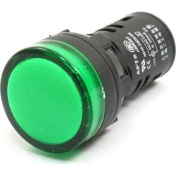 Unique Bargains Factory AC/DC 110V 20mA Green Indicator Lamp Abnormal Signal Pilot Light
