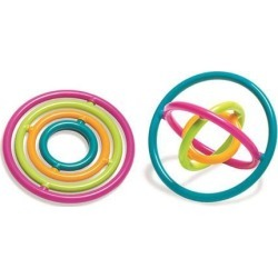 The Pencil Grip TPG860 Gyrobi Plastic Ring Fidget Toy