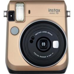 Fujifilm Instax Mini 70 Instant Film Camera - Stardust Gold