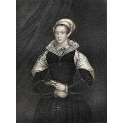 Posterazzi DPI1858765 Lady Jane Grey Aka Lady Jane Dudley 1537-1554 Titular Queen of England Poster Print, 13 x 17