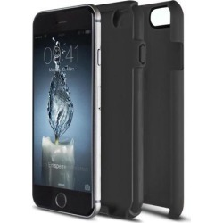 iPhone 6/6S Flux Hybrid Custom Case - Black/Black