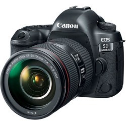 Canon EOS 5D Mark IV DSLR Camera with 24-105mm f/4L II Lens (International Model)