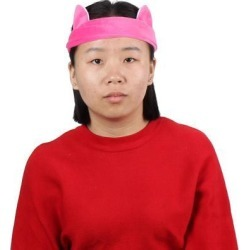 Lady Fabric Cat Ears Decor Elastic Sports Hairband Headband Sweatband Rose Red found on Bargain Bro India from Newegg Canada for $7.13
