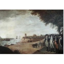 Posterazzi SAL9004763 Washington at Yorktown After Surrender 1781 James Peale 1749-1831 American Poster Print - 18 x 24 in.