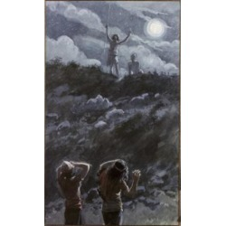 Posterazzi SAL999249 David Stops on a Hill James Tissot 1836-1902 French Jewish Museum New York USA Poster Print - 18 x 24 in.