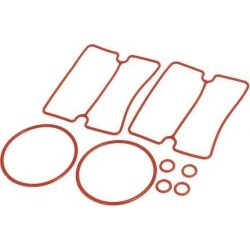 750W Air Compressor Fitting Plastic O-Ring Valve Gasket Set 8 in 1