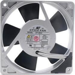 STYLE FAN UP12B22 12025 12cm 14/12W Aluminum frame fan all metal blades STYLE FAN UP12B22 AC 220V 12025 12cm 14/12W Aluminum frame fan all metal
