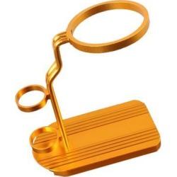 China Metal Rack Stand Shelf Bracket Holder for Teapot Golden