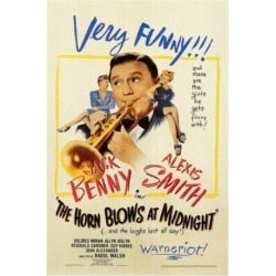 Posterazzi MOVGF2309 The Horn Blows at Midnight Movie Poster - 27 x 40 in. found on Bargain Bro Philippines from Newegg Canada for $44.19
