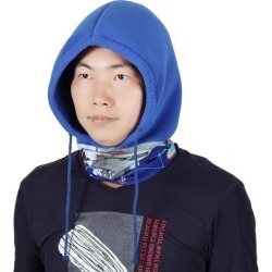 Adjustable Rope Riding Double Layer Head Wrap Neck Protector Balaclava Dark Blue found on Bargain Bro Philippines from Newegg Canada for $9.88