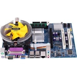 Mining motherboard Computer Motherboard mainboard systemboard CPU Set With Quad Core 2.66G CPU i5 Core + 4G Memory + Fan ATX Desktop Computer found on Bargain Bro Philippines from Newegg Canada for $108.61