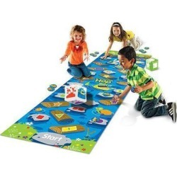 Learning Resources Crocodile Hop Floor Mat Game