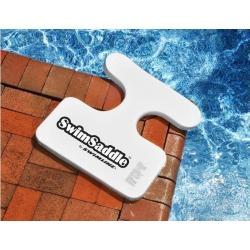 21' Sofskin Floating White SwimSaddle Swimming Pool Accessory