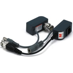 Monoprice 1-Channel Passive CCTV Security Camera Balun for Video and Power Over Cat5 Cable