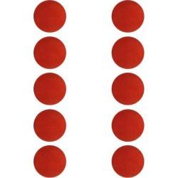 10 Pieces EVA Foam Golf Swing Exercises Practice Training Balls Red