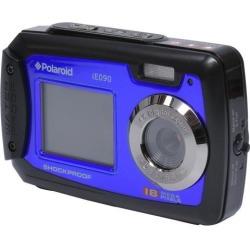 Polaroid iE090 Dual Screen Shock & Waterproof Digital Camera Blue