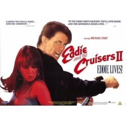 Posterazzi MOVCF6392 Eddie & the Cruisers 2-Eddie Lives Movie Poster - 27 x 40 in. found on Bargain Bro Philippines from Newegg Canada for $44.19