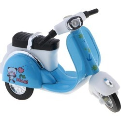 1:18 Scale Mini Alloy Pull Back Motorcycle Vehicles Car Toy Gifts Blue