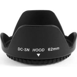 Unique Bargains DSLR Camera Filter Screw-in Mount 62mm Flower Lens Hood Shade Cover