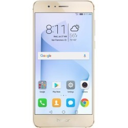 Huawei - Honor 8 Dual Camera Unlocked Smartphone 64GB Sunrise Gold - US Warranty