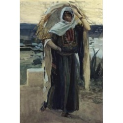 Posterazzi SAL999507 Ruth Takes Away the Barley James J. Tissot 1836-1902 French Jewish Museum New York USA Poster Print - 18 x 24 in.
